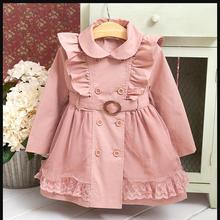Girls' fashion flower coat 2