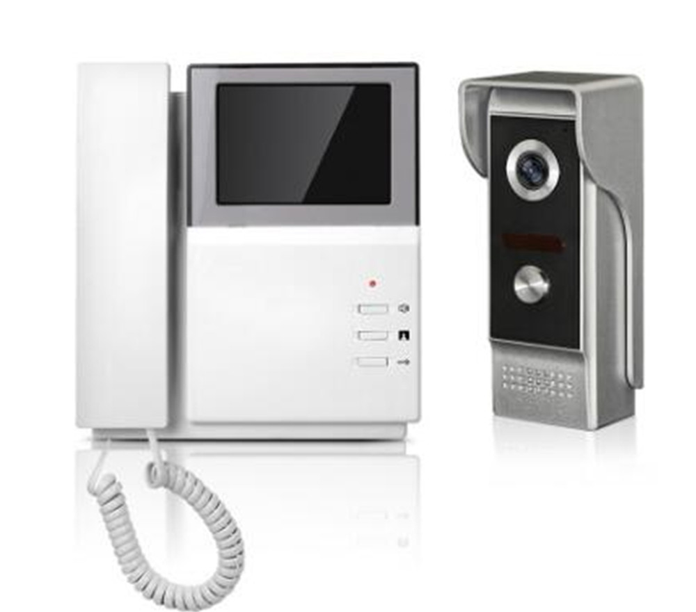 4.3 Inch TFT Monitor Intercom Video Door Phone XSL-43E-M 4 3 inch tft monitor intercom video door phone xsl 43e m