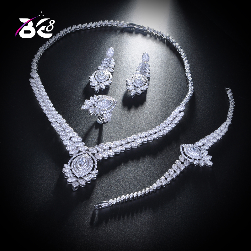 Back To Search Resultsjewelry & Accessories Intelligent Be 8 Sparking Luxury Bridal Wedding Jewelry Sets Aaa Cubic Zircon 4pcs Jewelry Set For Women Fashion Jewelry Dinner Party S150 Excellent In Cushion Effect