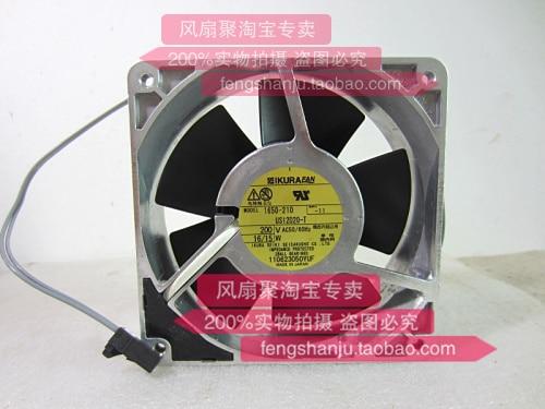 Original 1650-210 US12D20-T 200V 12cm 120*120*38MM IKURA all metal cooling fan