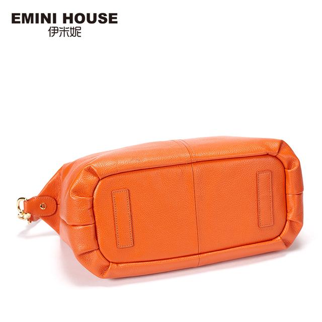 EMINI HOUSE Genuine Leather Women Messenger Bags 3 Colors Fashion Crossbody Bags For Women Shoulder Bag Women Handbags Hobos Bag