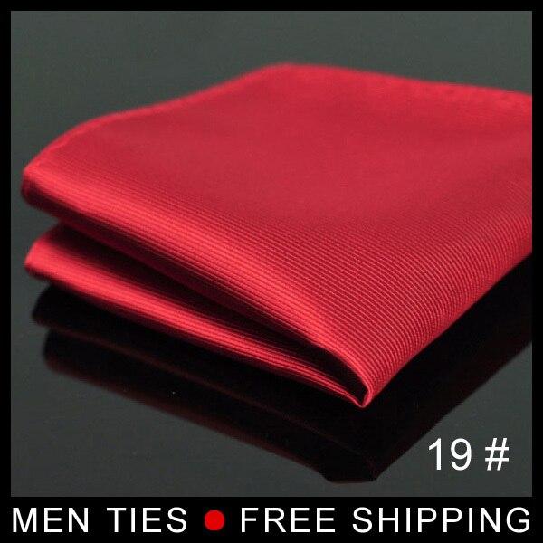 Men Silk Satin Pocket Square Suit  Waterproof Kerchief Hanky Hankerchief Mocketer Noserag For Men Wedding