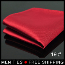 1pc Free Shipping Men Silk Satin Pocket Square Suit  waterproof Kerchief Hanky Hankerchief Mocketer Noserag For Wedding