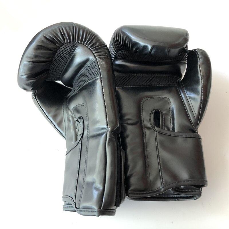 dos homens pu karate muay thai guantes