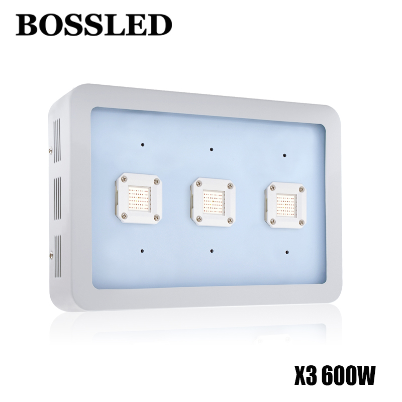 BOSSLED X3 600W led grow light for Full Spectrum for Indoor Plants medical Veg and Flower Hydroponics Greenhouse Gardening best led grow light 600w 1000w full spectrum for indoor aquario hydroponic plants veg and bloom led grow light high yield