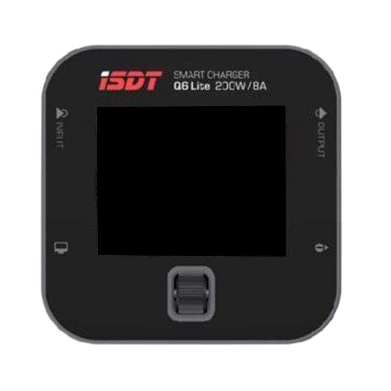 Isdt Q6 Lite Lipo chargeur de batterie/chargeur, chargeur d'équilibre chargeur 8A 200W Dc 2-6S Lcd affichage numérique batterie intelligente Bal