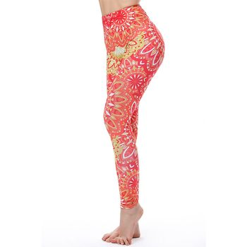 Aztec Round Ombre Sexy Push Up Leggings 7