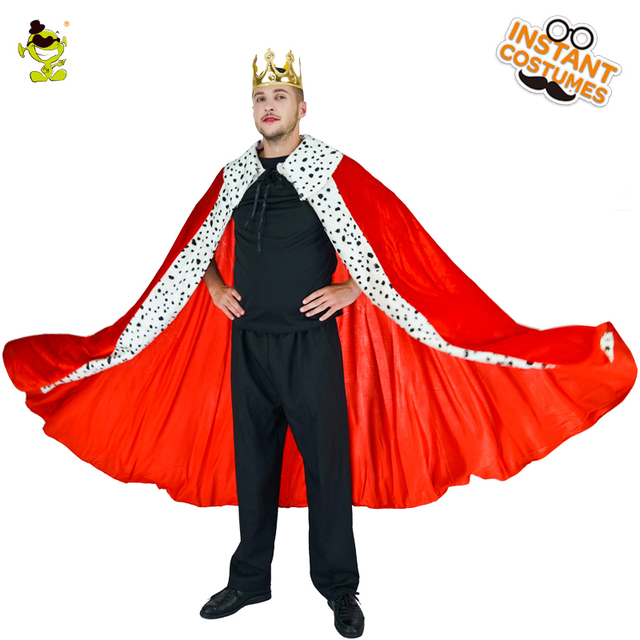 Mens Luxury King Cape Noble king costumes prince cosplay Christmas Red Cape Regal King Costumes  sc 1 st  AliExpress.com & Mens Luxury King Cape Noble king costumes prince cosplay Christmas ...