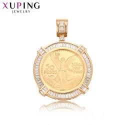 Xuping europejski styl dla dziewczyn piękny kształt zaokrąglony Trendy wisiorek biżuteria prezenty na święto dziękczynienia 33066