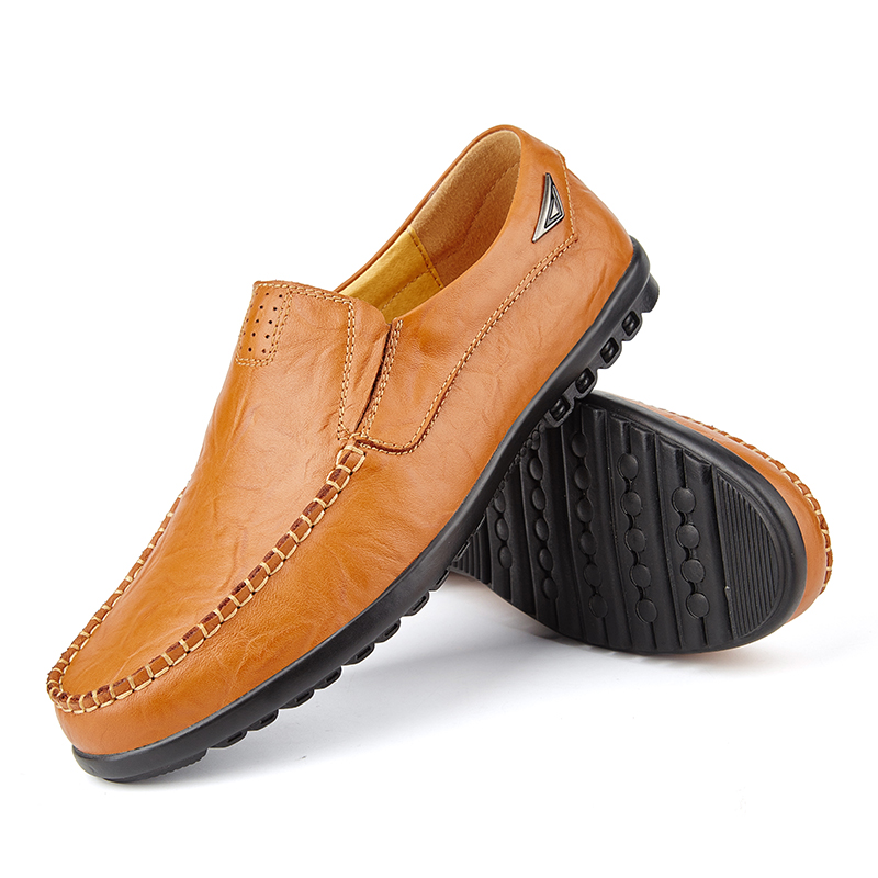 Valstone Популярни Кожени Обувки Мъжки - Мъжки обувки - Снимка 3