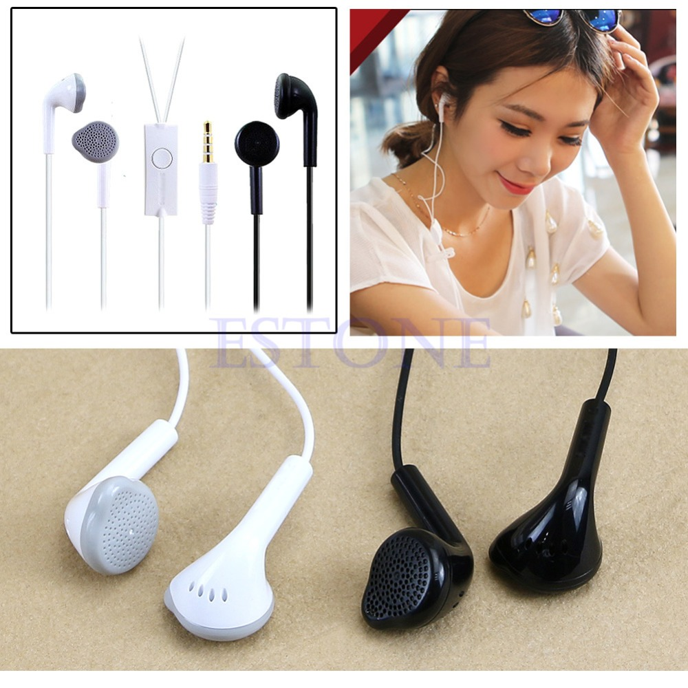 Hot 3.5mm Handsfree Headset Headphone For Samsung S5830 S5630 Galaxy Tab i9100