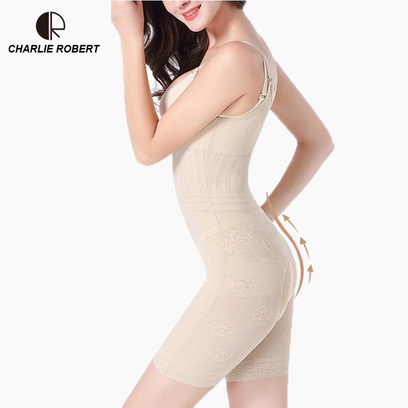 e70b0cd2a96 CR Women Sexy Lingerie Plus Size Body shaper Slim Corset Slimming Suits  Bodysuits Tummy Shaper Modeling Belt Slimming Underwear