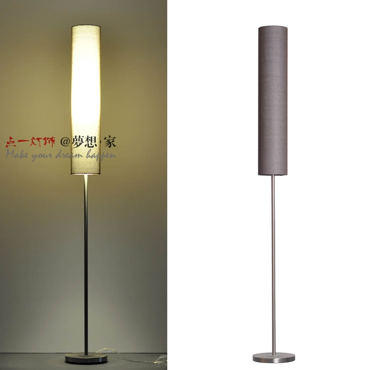 Modern Minimalist Living Room Floor North European Style Light Study New Lamp Creative LED Vertical Desk
