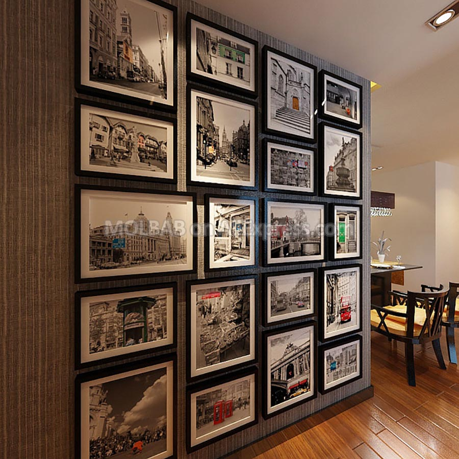 Modern Ultra Large Classic Photo Wall Adornment Frame ...