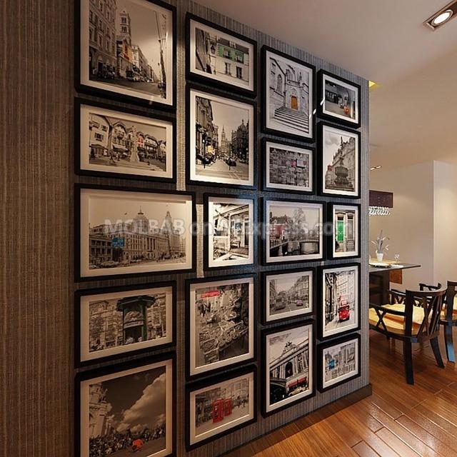Moderne Ultra Grote Klassieke Fotowand Versiering Frame 16 Inch 10