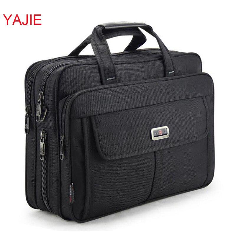 YAJIE Large Capacity Men s Handbags Business Men Single Shoulder Bag 15 6 Inches Laptop Bag
