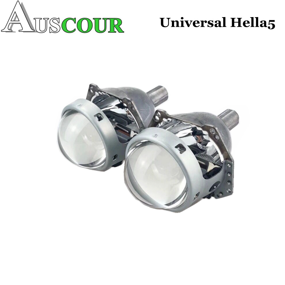 2pcs 3.0 inch hella 5 car Bi xenon hid Projector lens metal holder D1S D2S D3S D4S xenon kit lamp car headlight Universal modify new m803 2 5 car motorcycle universal headlights hid bi xenon projector kit and m803 hid projector lens for free shipping