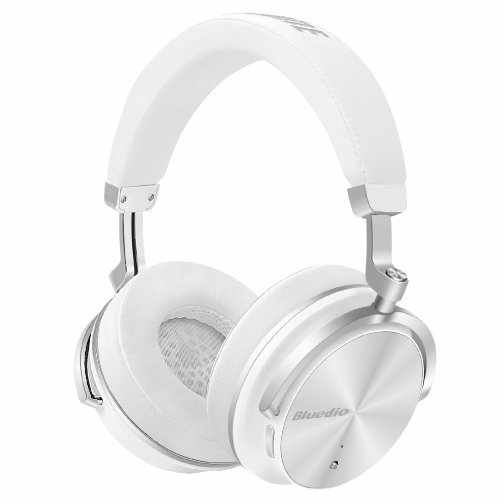 Bluedio T4 Active Noise Cancelling Wireless Bluetooth Headphones With Headset And Mic