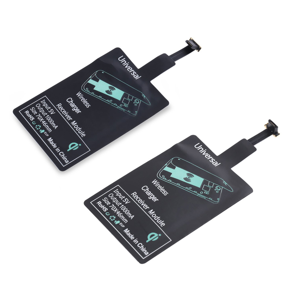 ALLOET Qi Universal Wireless Charging Charger Adapter Receptor Pad Coil Receiver For font b Android b