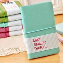 Кожаный Блокнот youe shone 1 шт/лот smile Корейская версия дневник
