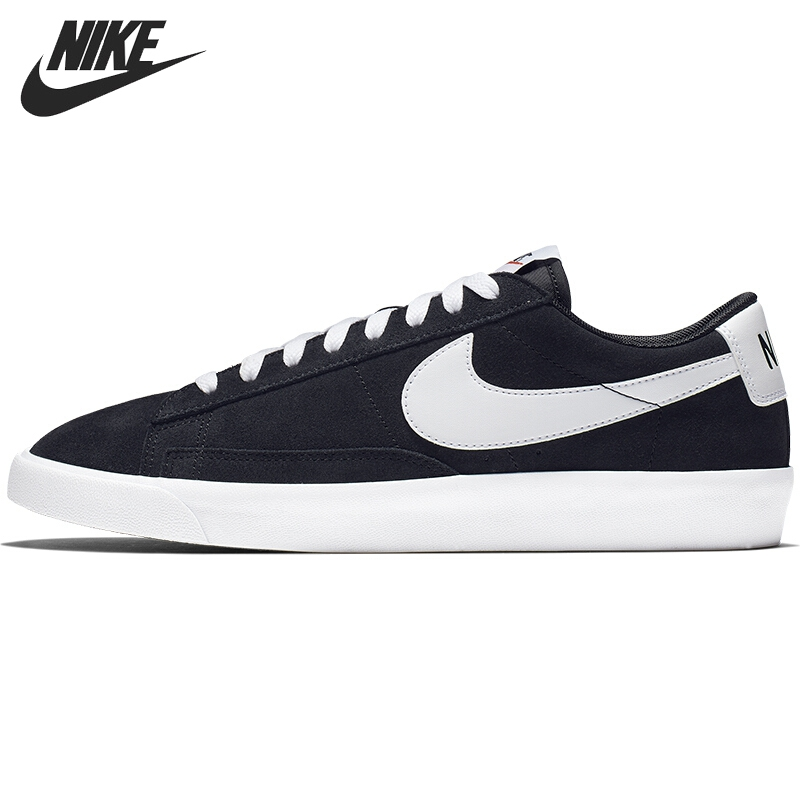 Original New Arrival NIKE BLAZER LOW PRM VNTG SUEDE Men's Skateboarding Shoes Sneakers