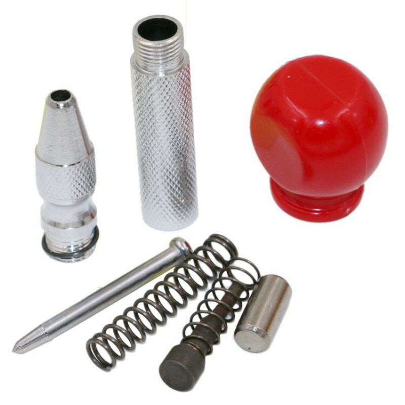 Handle 5 Inch Automatic Center Pin Punch Spring Loaded Marking Starting Hol for Metal Drilling