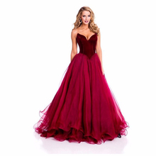 Wholesale engagement dress red
