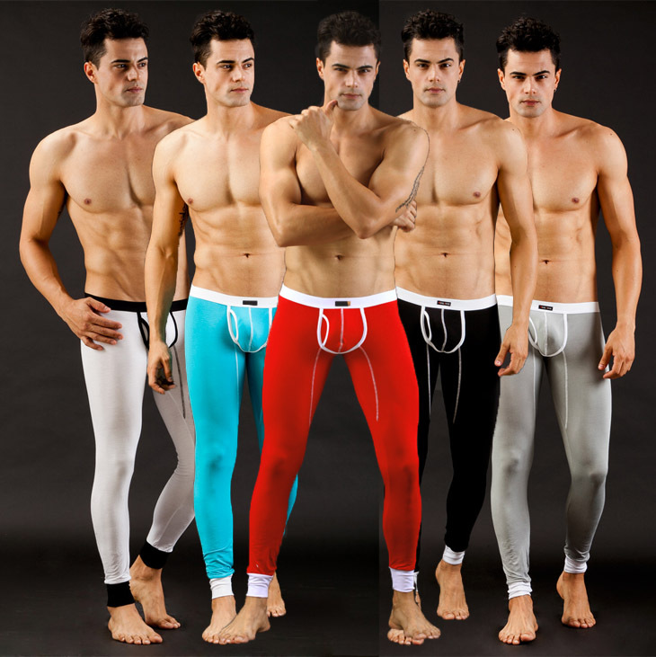 New Arrival Mens Sleep Bottoms Winter And Autumn Thermal Underwear Pajamas Man Warm Long Underwear High Quality  Long Johns