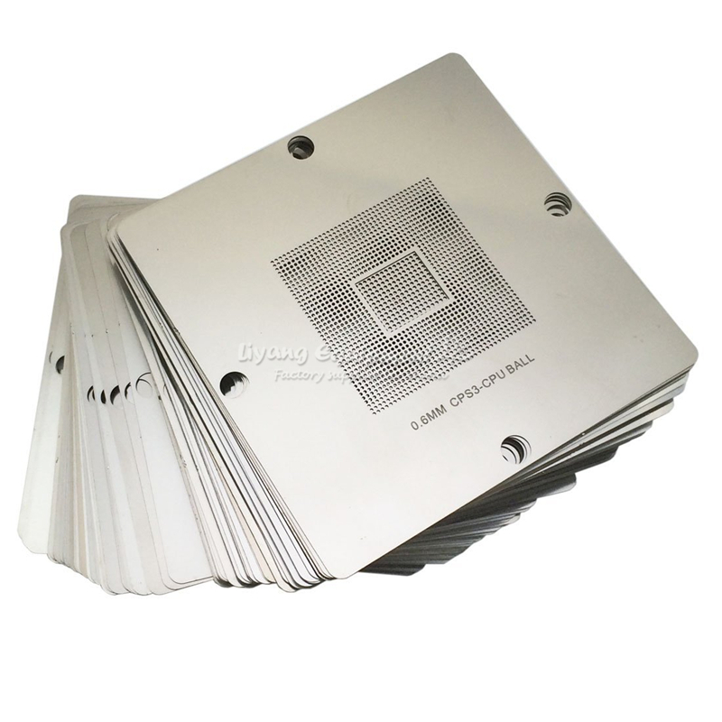 common use 80MM 90MM BGA reballing stencil kit 184 pcs/set suitable bga reballing rework station стоимость