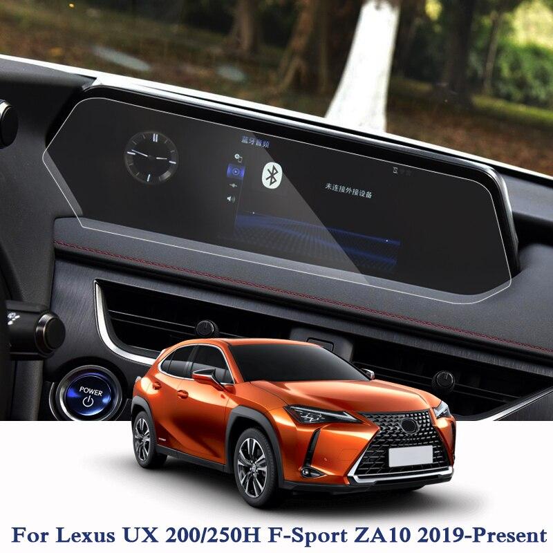 Voiture style voiture Navigation GPS écran Film peinture protection pour Lexus UX 200/250 H f-sport ZA10 2019-présent verre protection