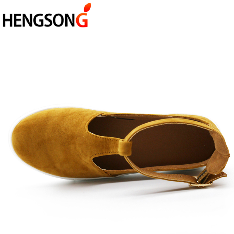 New  Summer Women Sandals Fashion Women Closed Toe Flat Shoes Woman Female Footwear Breathable Sandalias Plus Size