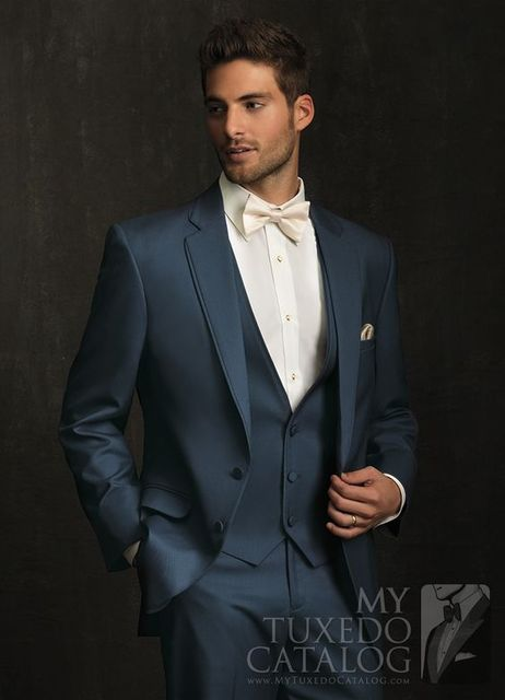 2017 Latest Coat Pant Designs Navy Blue Men Suit Formal