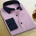 Мужчины Рубашку С Длинным Рукавом Бренд Clothing Печати Цветочные Рубашки Мужчины Camisa Социальной Masculina Повседневную одежду Мужские Рубашки Моды 2017