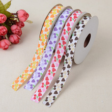 Cherry Ribbed Craft With Lace Ribbon Webbing Edge 1.5 * 20 Yards Clothing Home Accessories Embossed Polyester Sideband