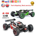 Et manía buggy rc car toys 1/18 2.4g 4ch 4wd rock rastreadores de motores de doble disco modelo off-road vehículos de rc toys regalo de los cabritos