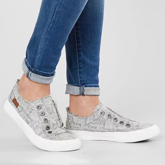 TANGNEST Canvas Shoes Lovers' Shoes 2019 New Solid All Match Casual Shoes Couple Daily Outdoor Flat Shoes Plus Size 35-43 XWF711