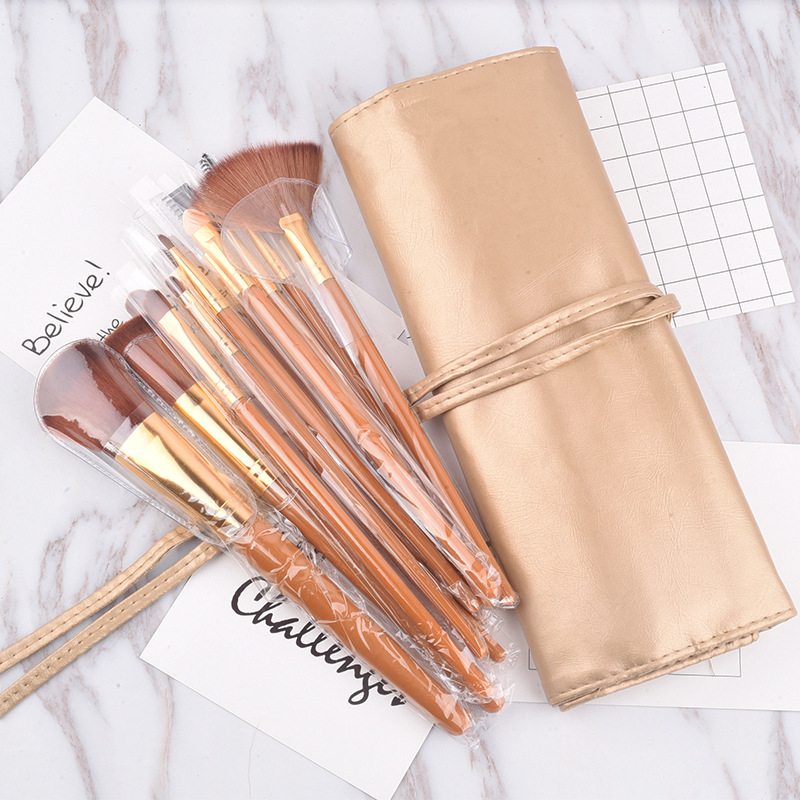 12pcs professional makeup brushes blusher eyeshadow eyebrow lip gloss lipstick powder fundation concealer make brush sets & kits lcbox professional 40pcs cosmetic makeup brushes set blusher eyeshadow powder foundation eyebrow lip make up brush with bag