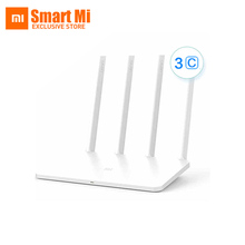 Original New Faster 2.4G Xiaomi WIFI Router 3C ROM 64MB 300Mbps WiFi Repeater English Version APP Control wi-fi Roteador