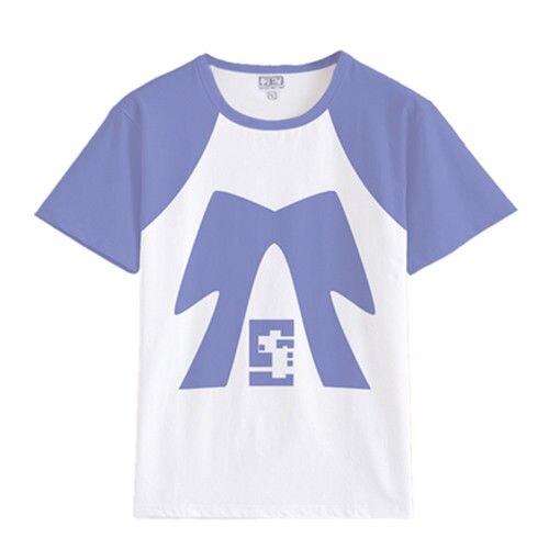 Anime T shirt  Zombie Land Saga Konno Junko Cosplay women Short Casual Tee Tops