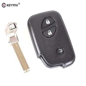 Chiave Telecomando per Lexus IS250 ES350 GS350 LS460 GS With Small Key Blade
