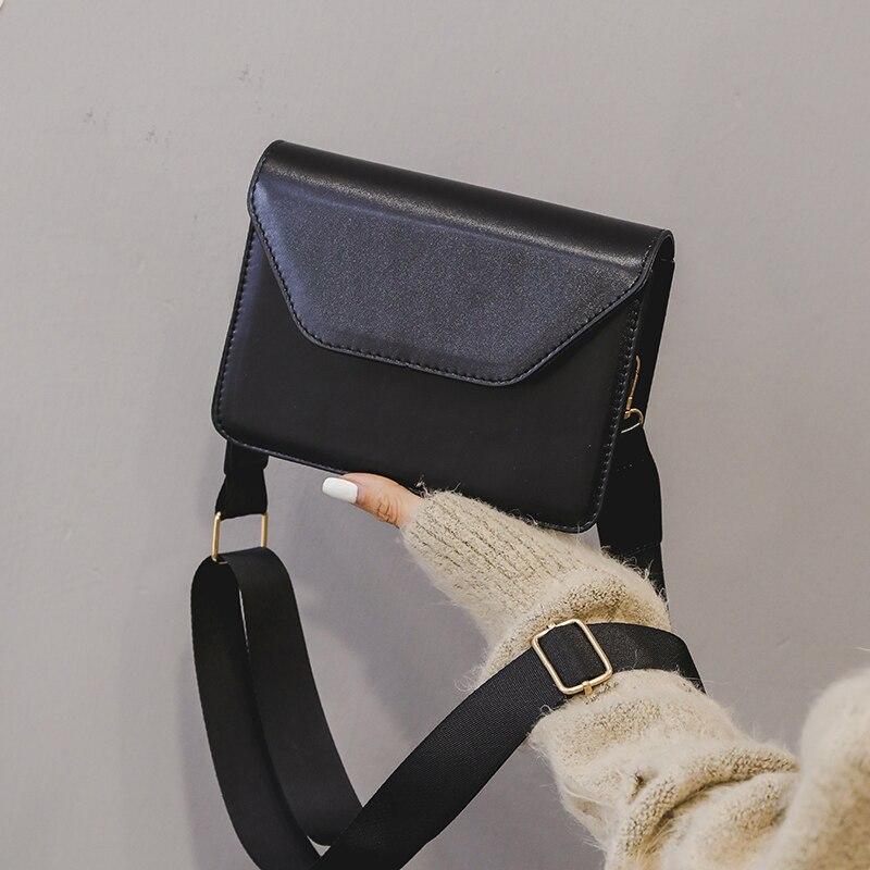 b3ad5f7b26 Per Elaborazione colore Femminili Il Solido Borse Laides cachi brown Nero  Tracolla Bag Dell'unità Flap 2019 Di E Rosa ...