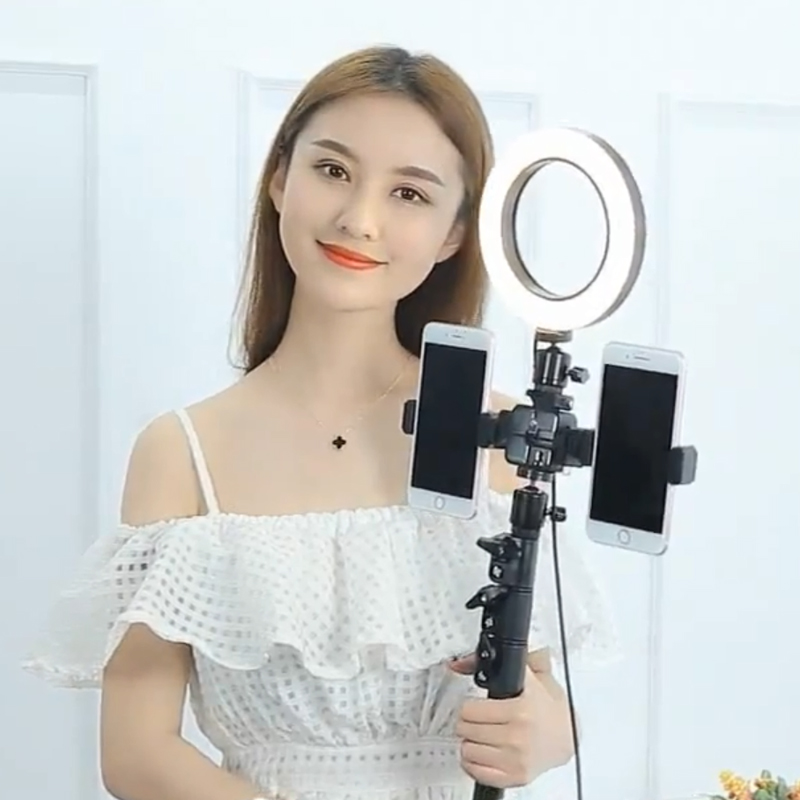 CY Photography LED Ring Light With Steel Light Stand Set for Phone Live Show/Makeup Beauty/Fill-in Lighting Fotografia suunto умные часы suunto core coral crush