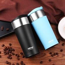 400 ml Kaffee Becher Edelstahl Becher Kaffee Flasche ThermoMug Isolierten Becher Auto Auto Heizung Tee Milch Reise Tumbler