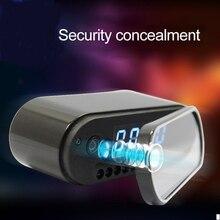 Volemer moda mini câmera relógio de alarme p2p livecam ir visão noturna wifi cam ip 1080 mini dv dvr camcorder wifi controle remoto