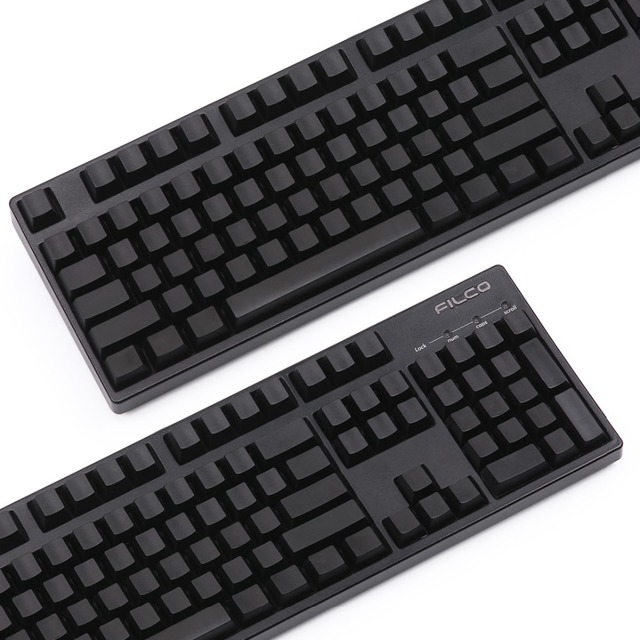 US $35 01 10% OFF|cherry profile pom blank keycap pom material for cherry  mx mechanical keyboard ansi layout 104keys-in Keyboards from Computer &