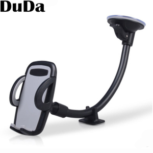 Image 5 - ユニバーサル自動車電話ホルダー携帯電話サポート電話車ホルダースタンドロングアームのフロントガラスマウント iPhone 11 × 7 6S oppo