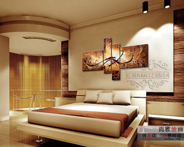 Aliexpress Buy Home Decoration The Paintings Handmade 4 Egyptian Bedroom Design