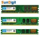 SunDigt DDR2 800 / PC2 6400 5300 4200 1GB 2GB 4GB Desktop PC RAM Memory Compatible DDR 2 667MHz / 533MHz Multiple Models DIMM