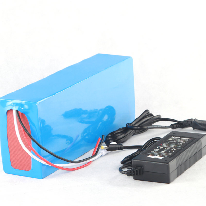 Free Customs Duty High Quality DIY 48V 15Ah Li-ion Battery Pack With 2A Charger,BMS For 48v 15ah Lithium Battery Pack 48 volt li ion battery pack electric bike battery with 54 6v 2a charger and 25a bms for 48v 15ah lithium battery