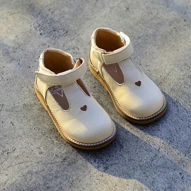 Натуральна шкіра Літні дитячі повсякденні взуття У порожніх дівчат ... 66f970dc94a5e